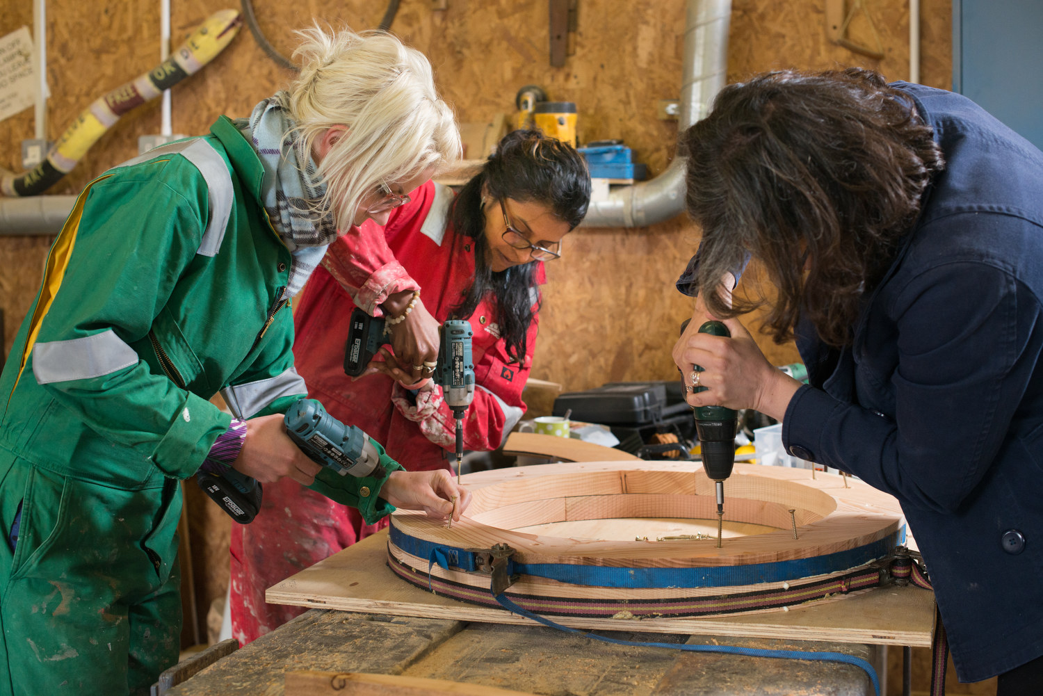 SSW Scottish Sculpture Workshop LumsdenCamp Breakdown Break Down Jul15