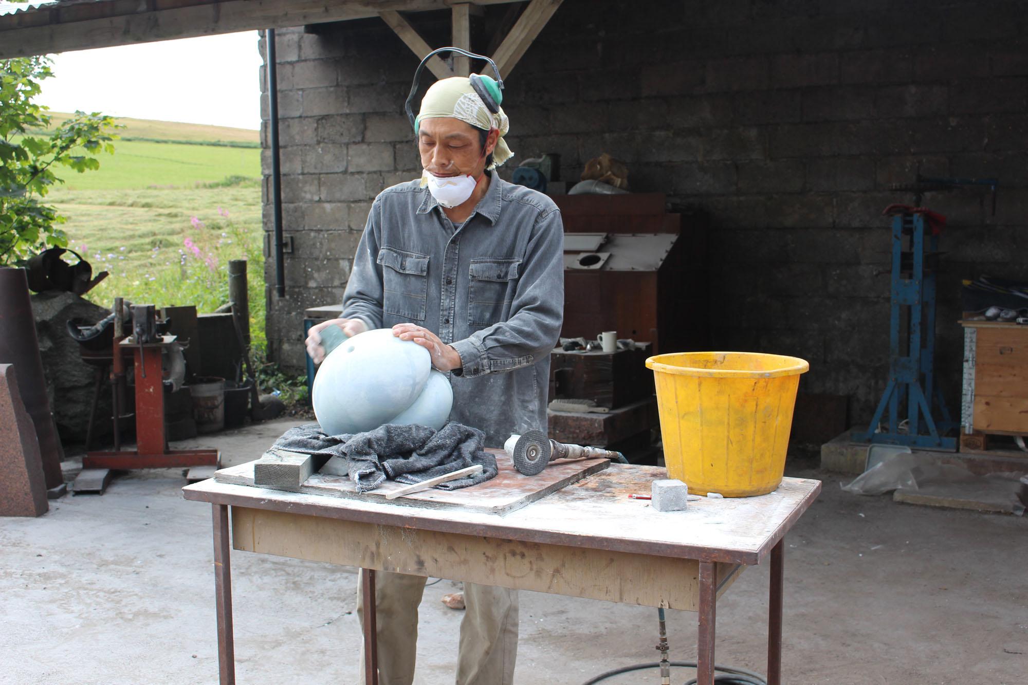 Senri Stone Carving