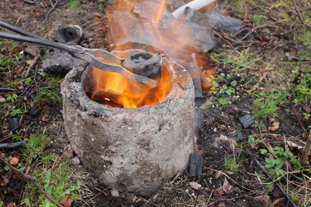Bronze age furnace
