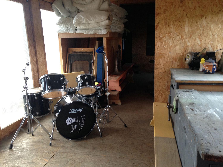 Mole Joy drum kit