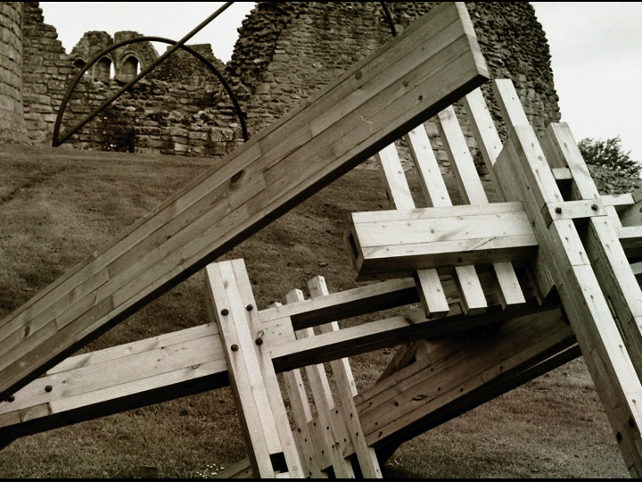 Scottish Sculpture Open at Kildrummy Castle
