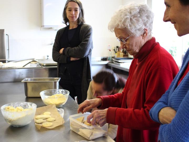 Lumsden Biscuit with Sylvia Grace Borda