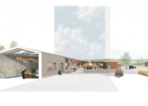 Architect's render of SSW